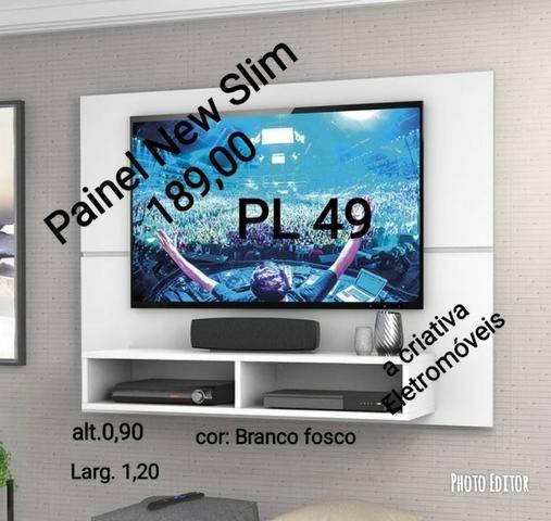 Liquida tudo painel pra tv apenas 189,00 com entrega e montagem gratis