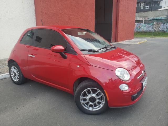 Fiat 500 carro impecável! aceito trocas - Foto 2