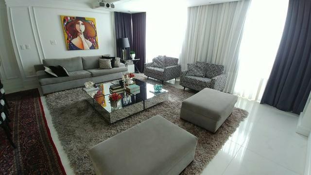 Apartamento bem mobiliado de 3 dormitórios no Centro de Florianópolis - SC - Foto 3