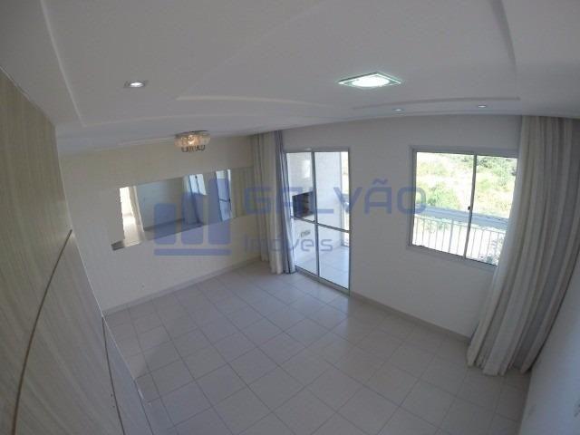 MR- Excelente apartamento na Praia da Baleia, 2Q com suíte e Varanda Gourmet - Foto 3