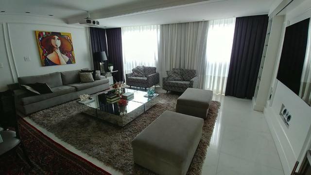 Apartamento bem mobiliado de 3 dormitórios no Centro de Florianópolis - SC - Foto 2