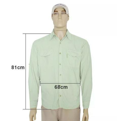 Camisa c/ Proteção UV 30+ Ballyhoo Crisis - NOVA