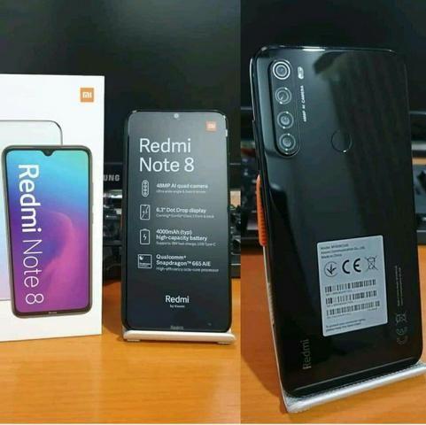 Xiaomi Redmi Note 8 128gb/4gb Global Com 6 Meses De Garantia Cor Preto