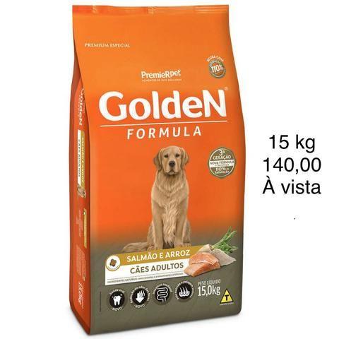 Ração Golden Salmão e Arroz 15 kg (até 3x)