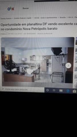 Oportunidade vendo casa em planaltina df localizada no buritis2 - Foto 17