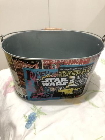Balde Star wars (nunca usado) - Foto 3