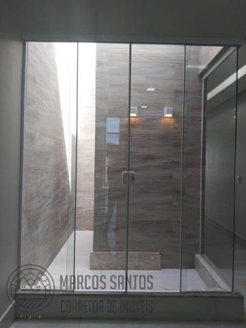 Linda casa nova moderna de alto padrão em rua 06 Vicente Pires - Foto 10