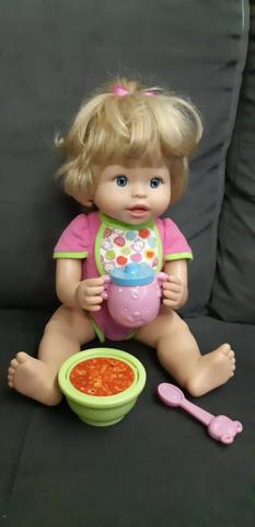 Boneca Little Mommy Papinha