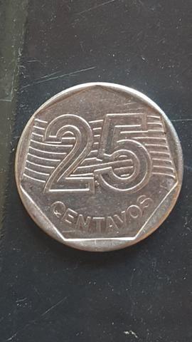 25 centavos rara - Foto 2