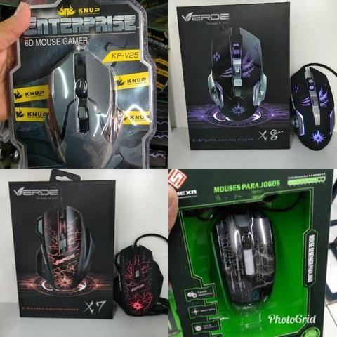 Promoção Mouses gamer a partir de $65