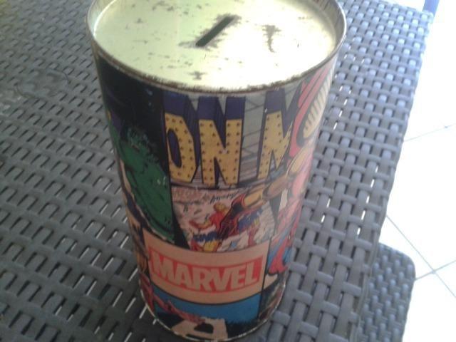 Cofre Vintage Heróis da Marvel - Muito Novo !!! P/ Colecionadores !!! - Foto 2