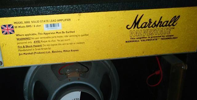 Amplificador de guitarra Marshall Valvestate 8080 - Foto 2