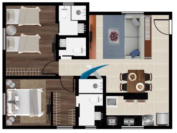 Cobertura top house a venda 2 quartos - prado - Foto 2