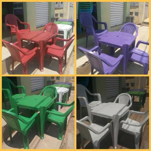 Imperdível- Conjunto de mesa c 4 cadeiras resistente - Foto 6