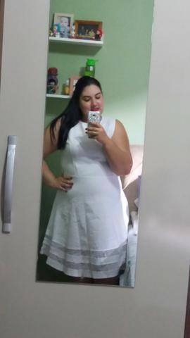 Vestido Branco Plus Size - Foto 2