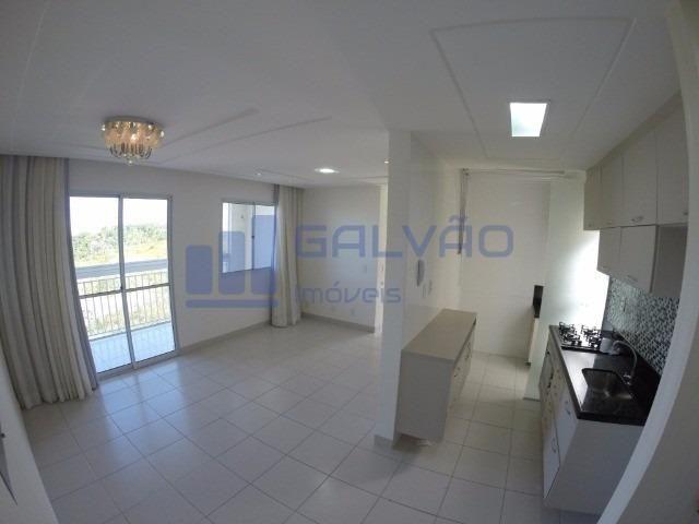 MR- Excelente apartamento na Praia da Baleia, 2Q com suíte e Varanda Gourmet
