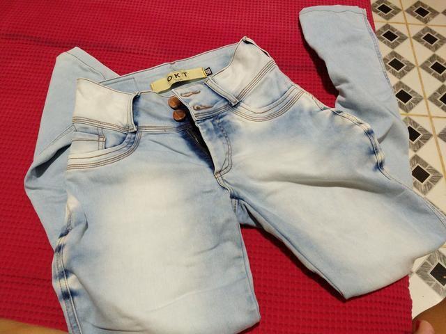 Calça n 38 pequeno , bermudas 36 , blusa pm - Foto 5