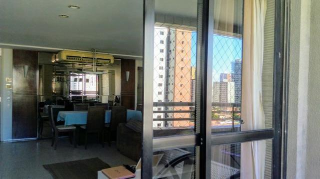 Apartamento projetado no Meireles 117m, 2 suítes com closet, Escritório, 3 vagas - Foto 4