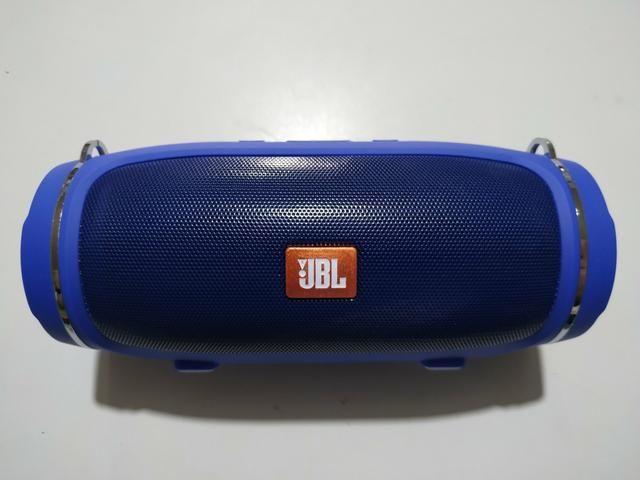 Vendo Jbl Xtreme Mini Nova Azul Ótima Qualidade de Som