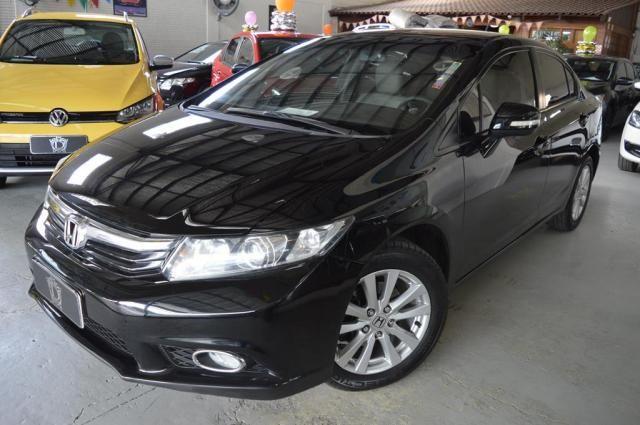 Honda Civic Sedan LXR 2.0 Flexone 16V Aut. 4p - Preto - 2014