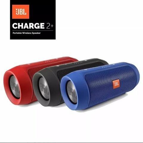 Caixa Som Charge 2 JBL Bluetooth pen drive aux e cartão sd