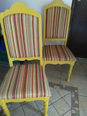 Cadeira antiga restaurada - Foto 2