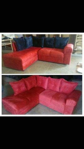 Sofá de canto aconchegante novo com várias cores disponiveis - Foto 2