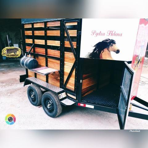 Carreta para cavalo - Foto 3