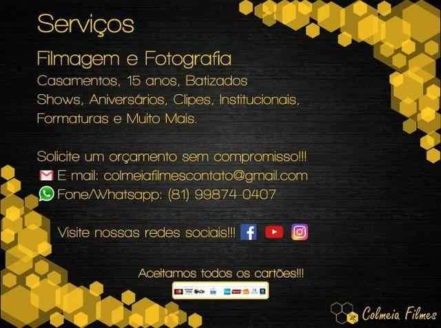 Filmagem e Fotografia (Promoção) - Foto 2