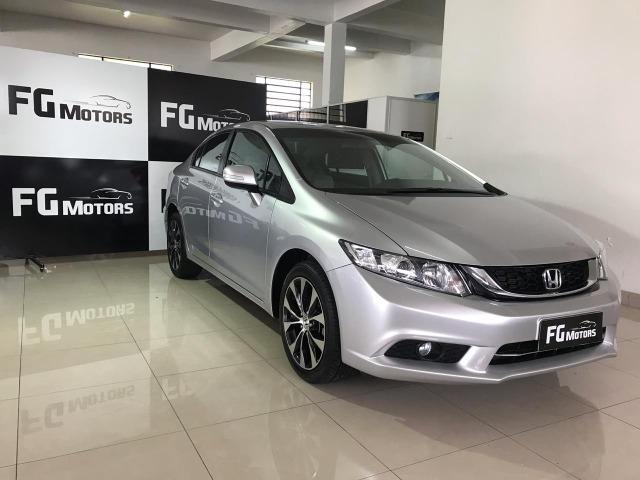 Honda Civic LXR 2015 impecável - IPVA pago