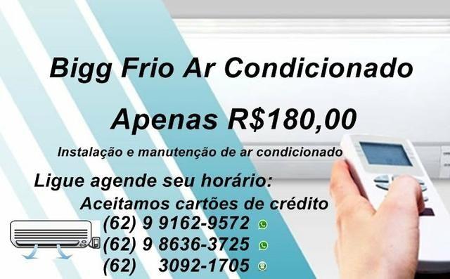 Consertos,instalação e manutenção de Ar condicionado