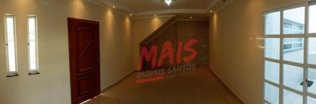 Casa com 3 dormitórios à venda, 105 m² - Ponta da Praia - Santos/SP - Foto 5