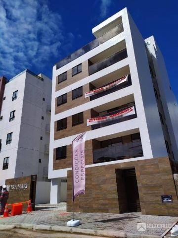 Apartamento com 2 dormitórios à venda, 63 m² por R$ 290.000,00 - Intermares - Cabedelo/PB