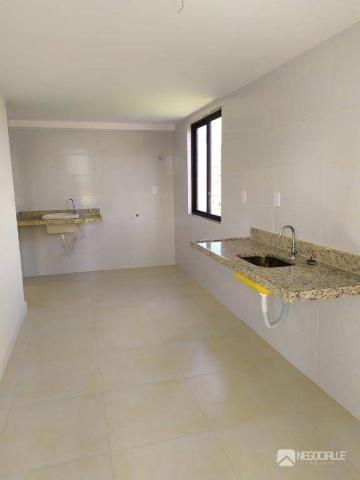 Apartamento com 2 dormitórios à venda, 63 m² por R$ 290.000,00 - Intermares - Cabedelo/PB - Foto 8