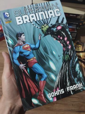 Hq - superman brainiac + legião - a origem secreta
