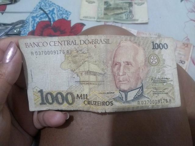 Notas de dinheiro antigas - Foto 5