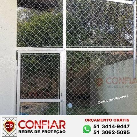 Redes de Proteção para apartamentos e Quadras em Porto Alegre - RS