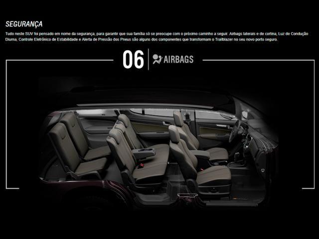 CHEVROLET TRAILBLAZER 2.8 PREMIER 4X4 16V TURBO DIESEL 4P AUTOMÁTICO - Foto 11
