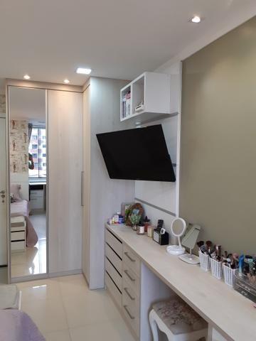 Vieira Alves - Apartamento Santa Clara com 3 suítes 100% mobiliado - Vendo 525 mil - Foto 9