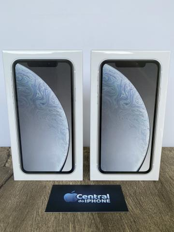 IPhone XR branco 128gb novo, lacrado