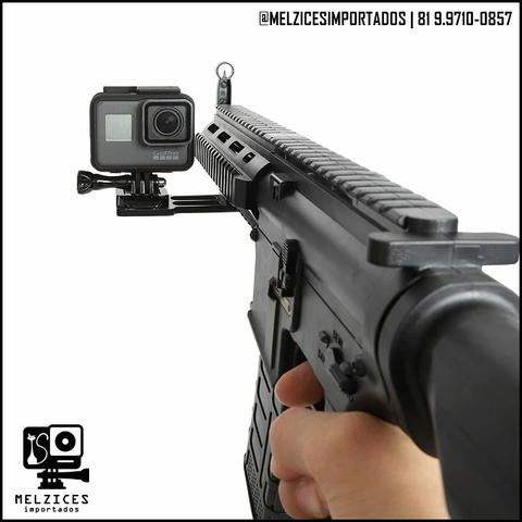 Trilho tatico Lateral 20mm para GoPro e Similares - Foto 2