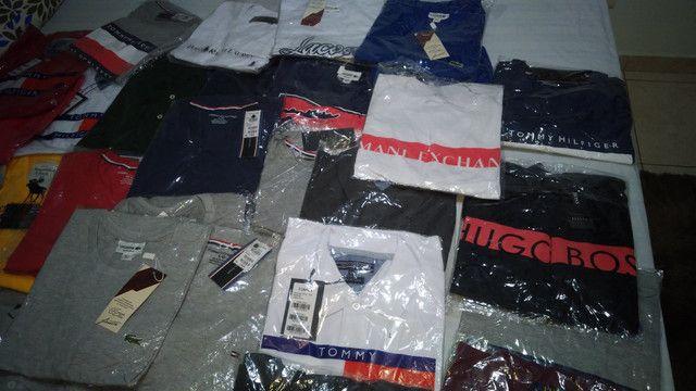 Lote de 29 camisas - Foto 2