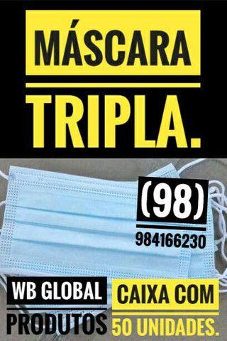 Máscara TRIPLA R$ 50,00