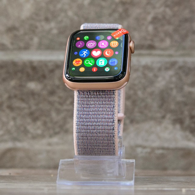 Relógio Smartwatch Iwo 12 Pro Original Gps Cor Rosa Pulseira Brinde - Foto 2