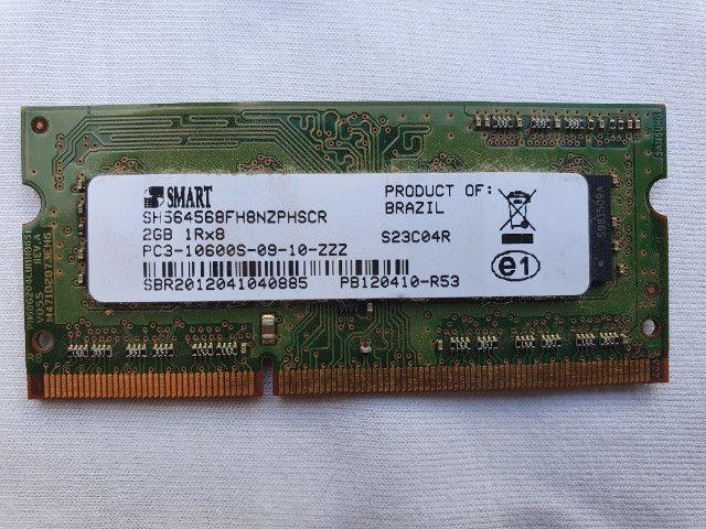 Memória Ram 2GB Notebook