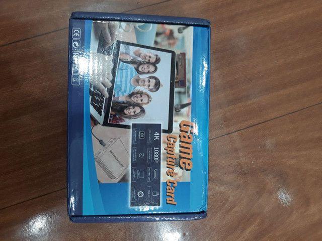 Placa de captura de Video USB HDMI 4k - Foto 2