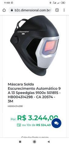 Vende ou trocar Jogo De Soquetes +Máscara Solda   Speedglas + lixadeira 4.1/2 - Foto 3
