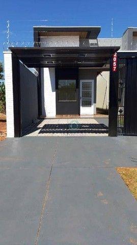 Casa com 3 dormitórios à venda, 75 m² por R$ 250.000,00 - Pioneiros - Campo Grande/MS - Foto 2