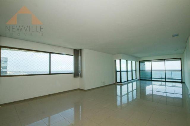 Apartamento com 4 quartos para alugar, 201 m² por R$ 9.499/mês - Boa Viagem - Recife - Foto 7