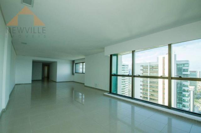 Apartamento com 4 quartos para alugar, 201 m² por R$ 9.499/mês - Boa Viagem - Recife - Foto 13